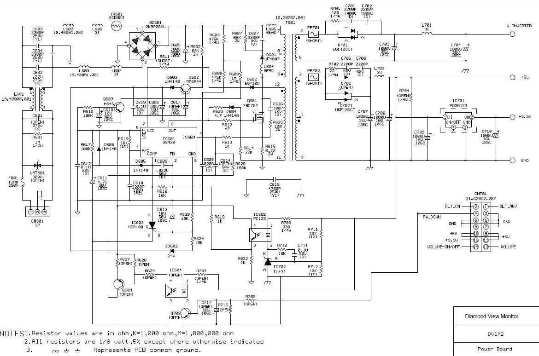 diagramas de monitores diagramasde com
