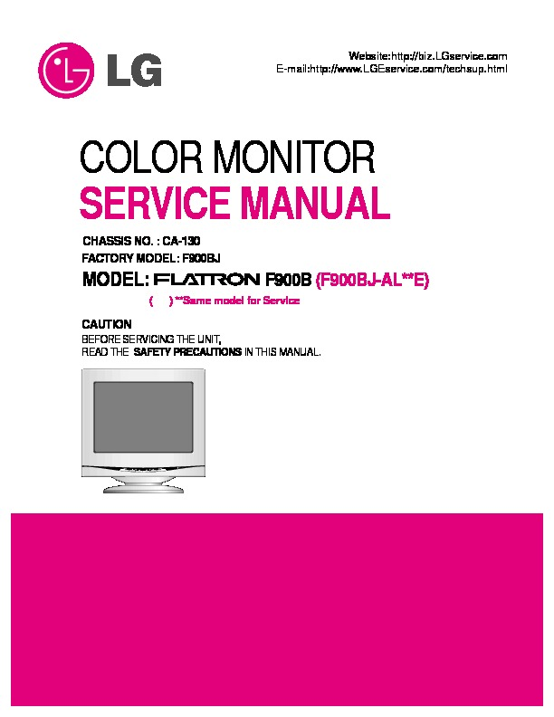 lg service manual monitor lg f900 pdf diagramas de. Black Bedroom Furniture Sets. Home Design Ideas