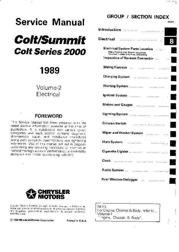 Electric manual Mitsubishi Colt C50.pdf
