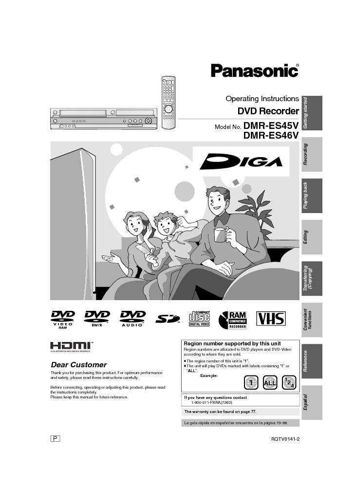 PANASONIC DMRES46V.pdf