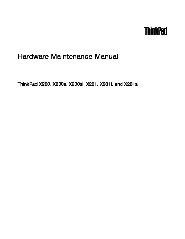 THINKPAD X200-X201.pdf