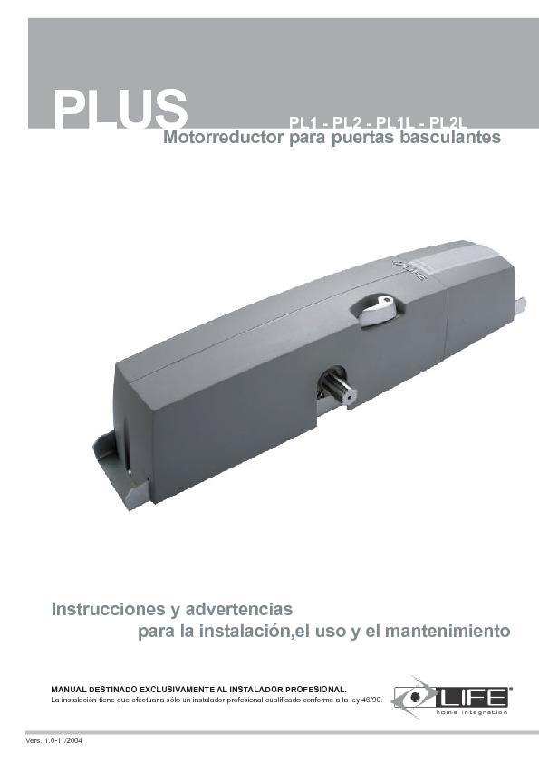 Installazione_uso_PLUS_ES_V1_23-11-04.pdf