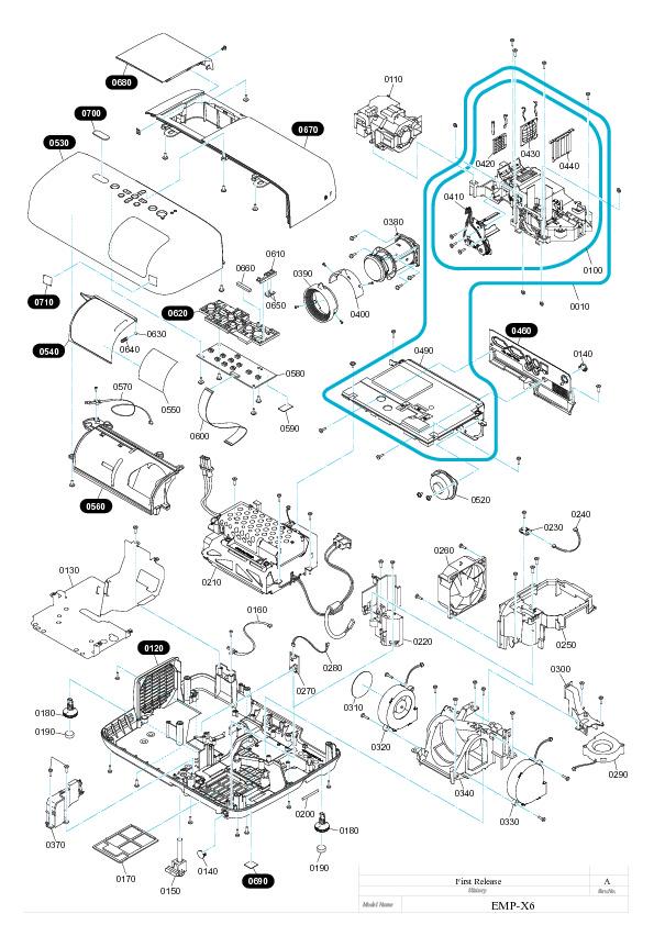 EPSON epson powerlite 78 diagrama pl78 ed pdf Diagramas de