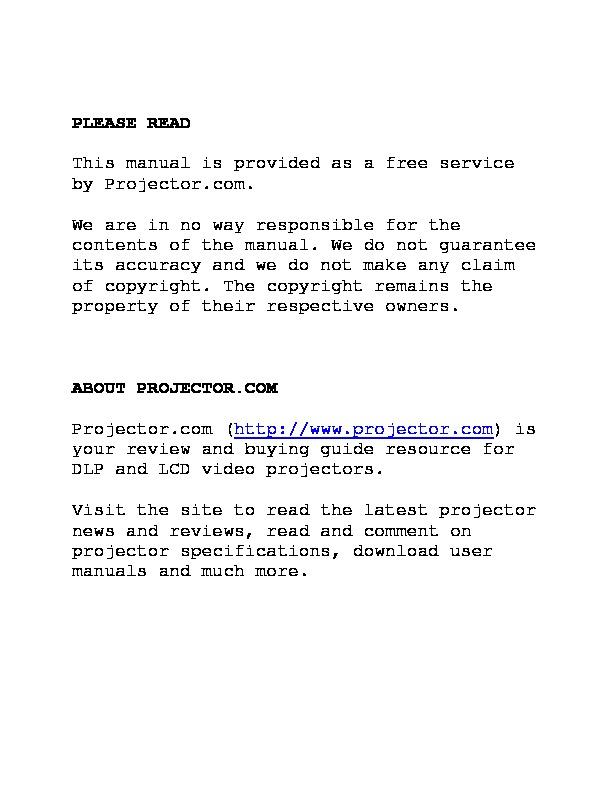 3M MP8670 Video Projector Manual.pdf
