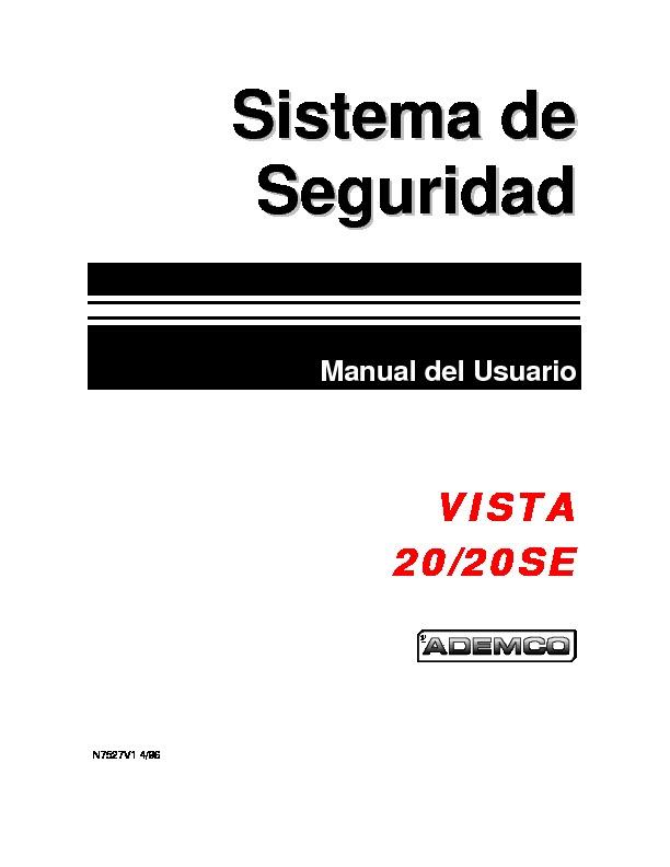 Vista-20 y Vista-20SE - Manual usuario - esp.pdf