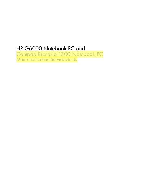 Compaq Presario f700.pdf
