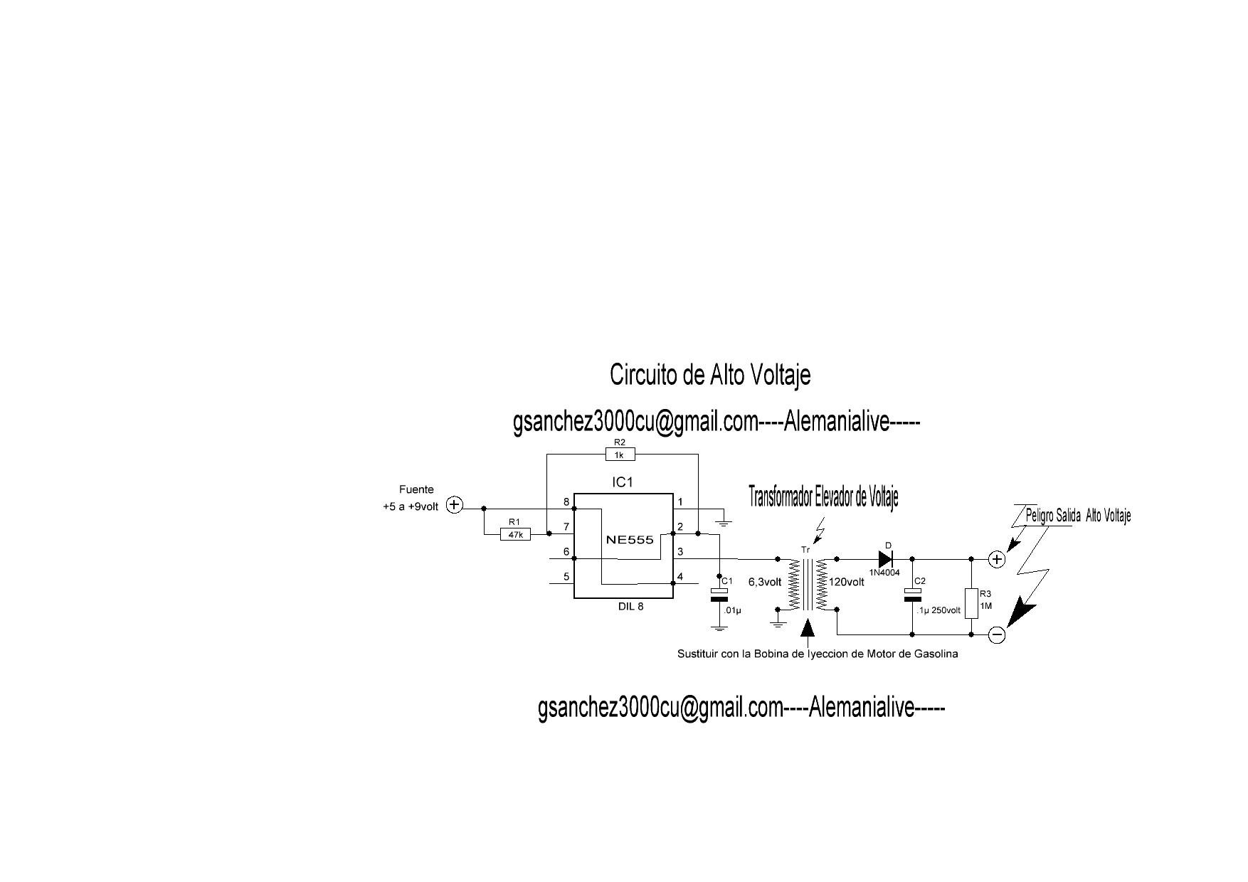 Cicuito de Alto Voltaje de Inyeccion.JPG