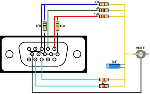 Deco Vga Videopng on Cat5 Female Wiring Diagram