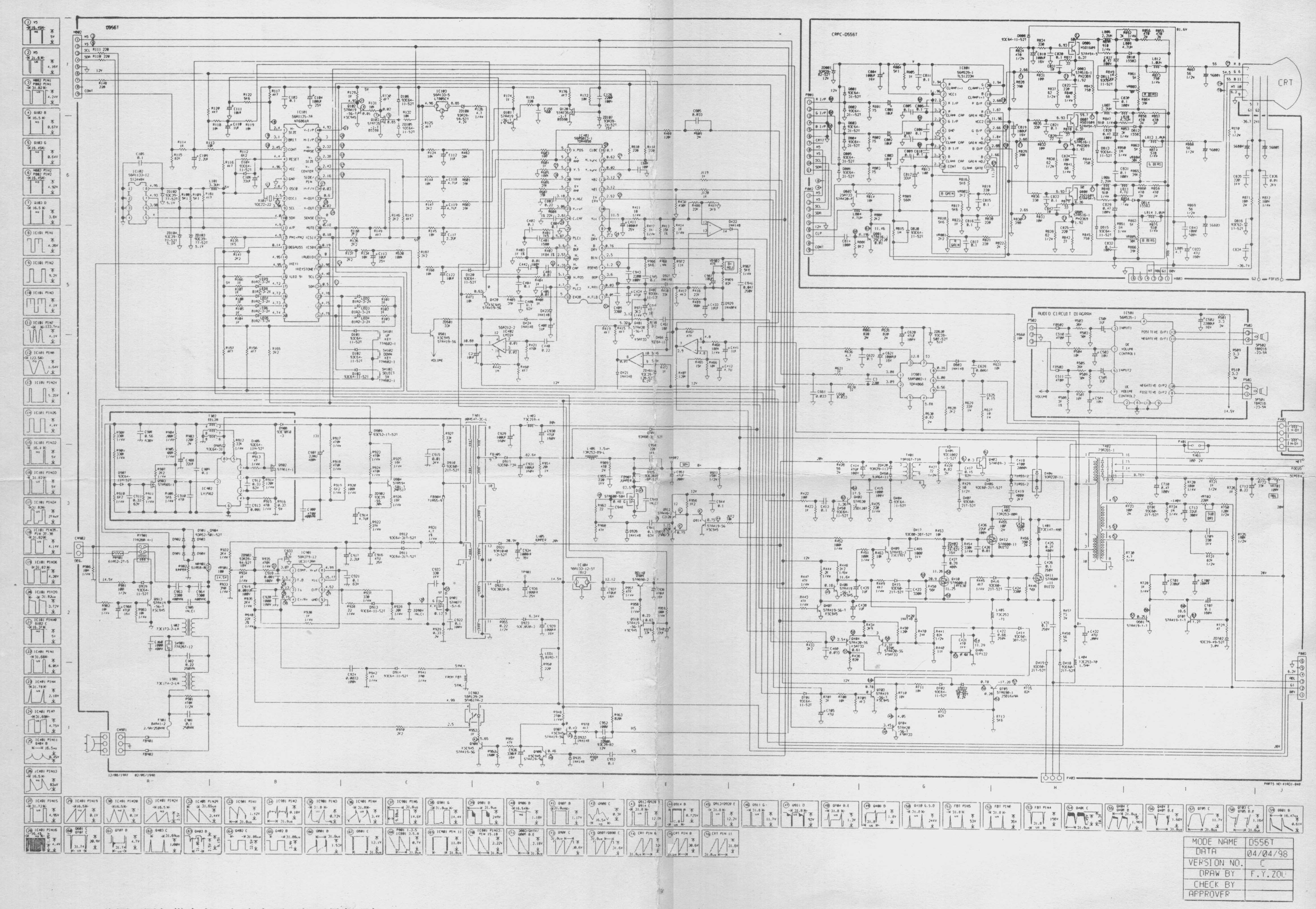 Crown Sc 4000 Service Manual Forklift Wiring Diagram