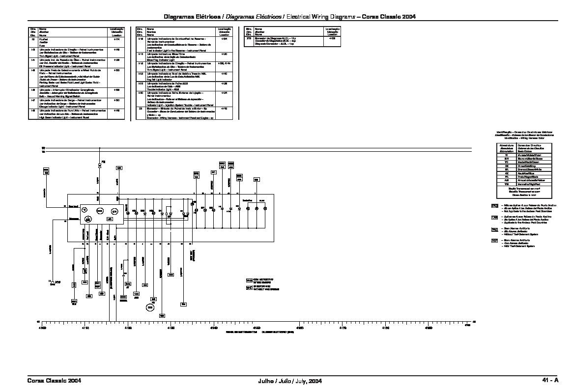 Corsa Ipc Pdf Diagramas De Autos