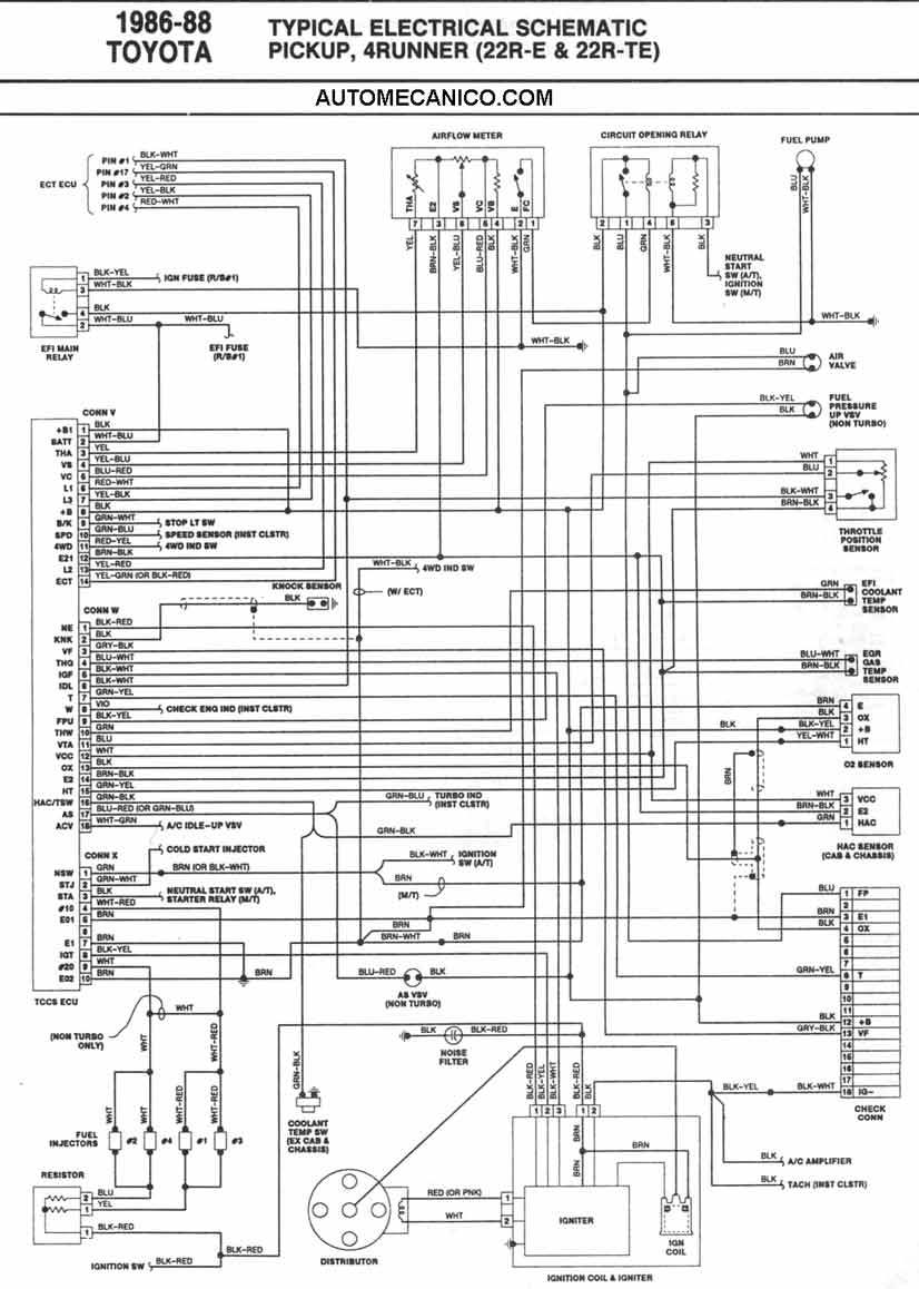 Toyota 1984 22r E Vacuum Line Diagram furthermore 1032131 Foto Of 6 9 Engine With Parts Id Captioned moreover 714521 Funny That They Built These At The Same Time moreover 640210 Alternator Good But Itsnt 2 also Watch. on 1986 toyota truck wiring diagram