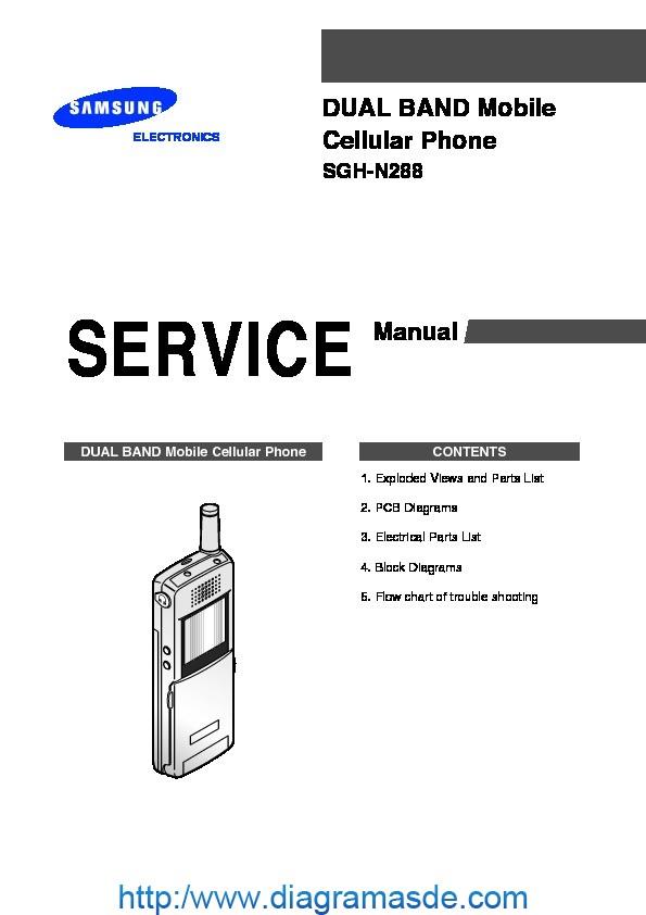 samsung sgh n288 service manual pdf samsung sgh n288 service manual pdf