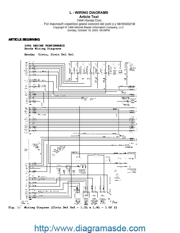 diagramas pdf honda honda civic 1994