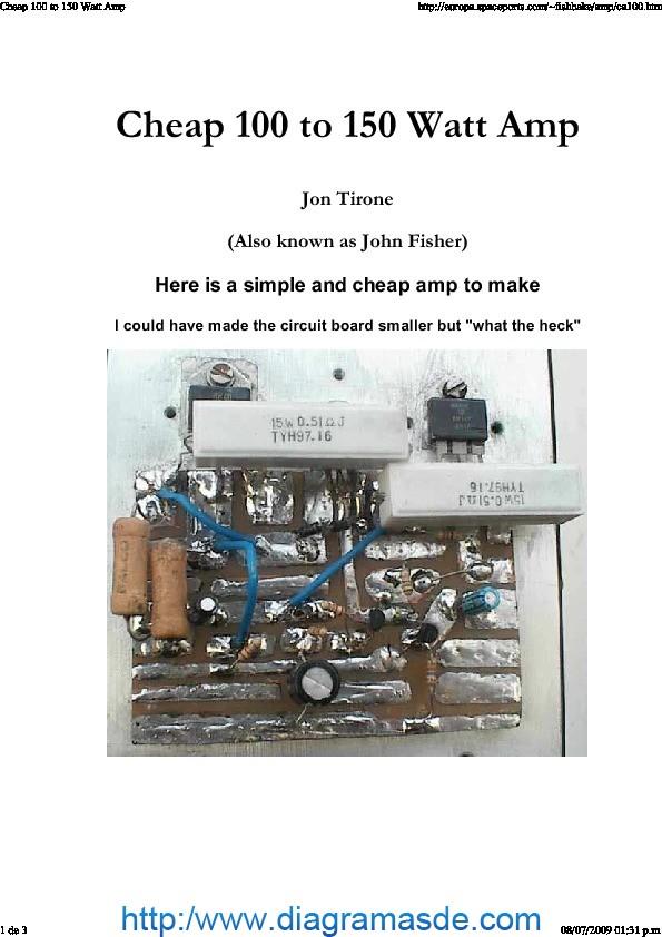 Cheap 100 to 150 Watt Amp..pdf