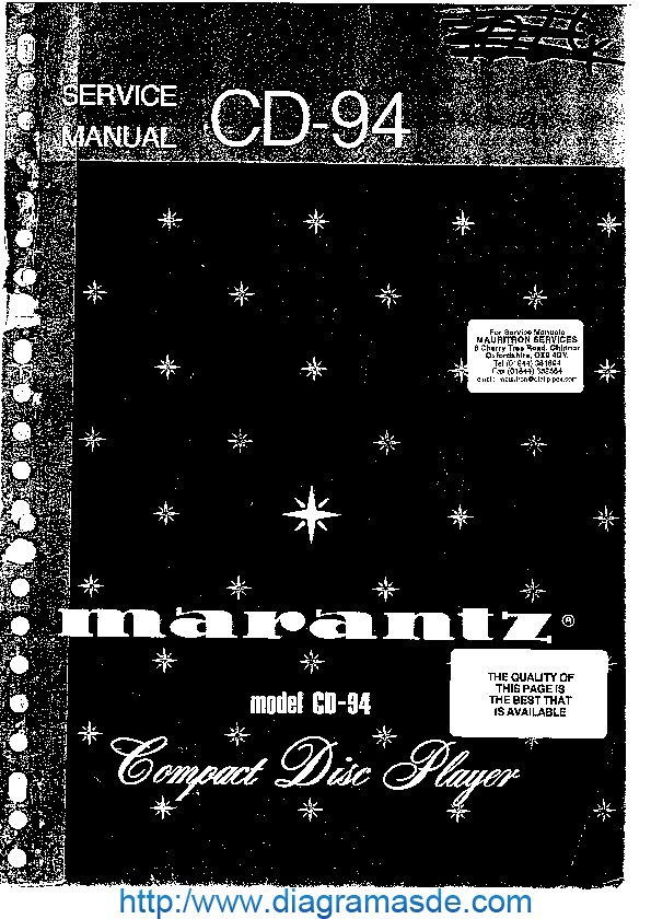 Marantz CD94SM.pdf