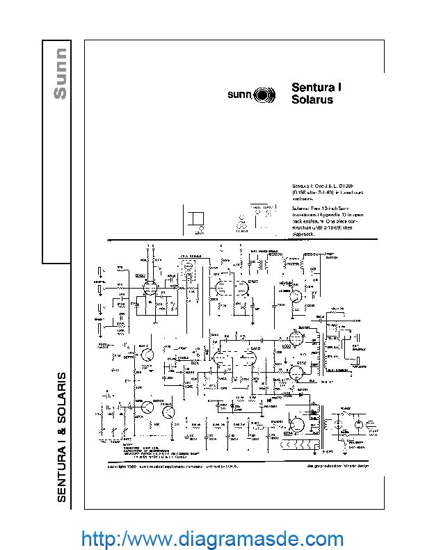 Sunn SOLARIS Amplifier Schematic.pdf