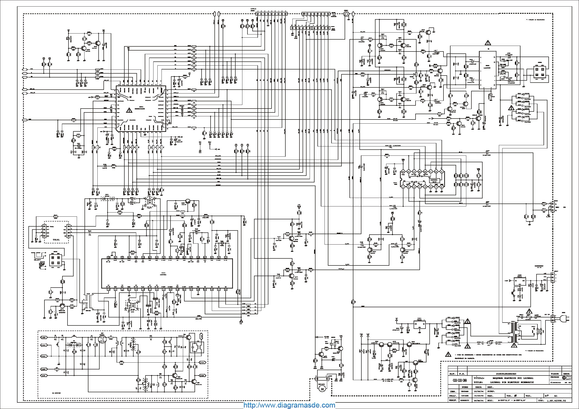 CCE Audio A-380B Diagrama Esquematico.pdf