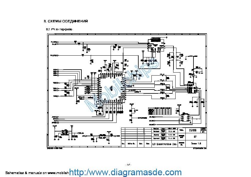 lg celular t5100 diagrama esquematico pdf lg celular t5100