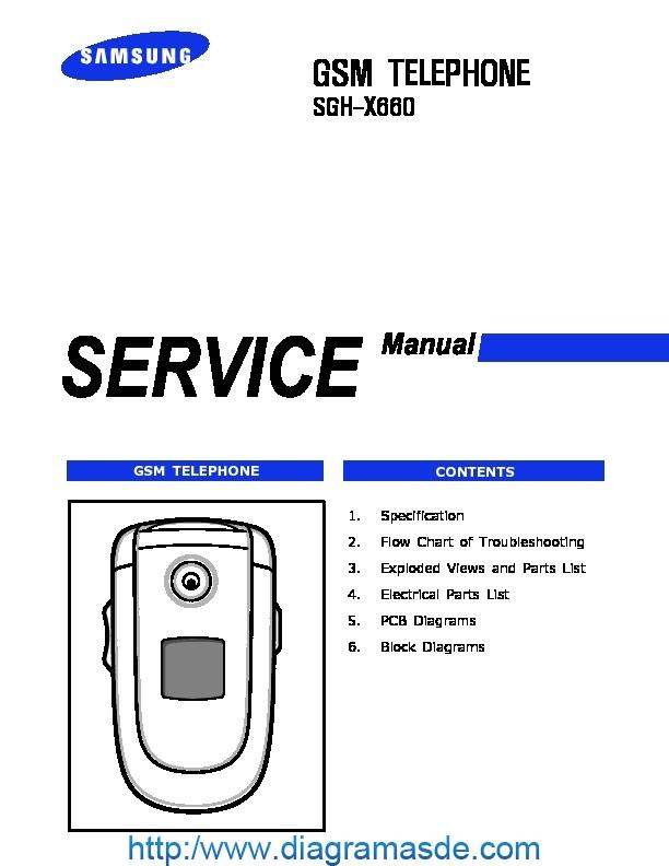Samsung SGH-X660 service manual.pdf