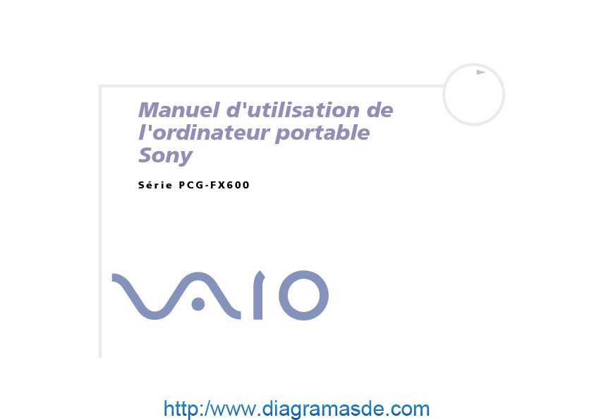 Sony Vaio Manual del Usuario FX600 H Frances.PDF