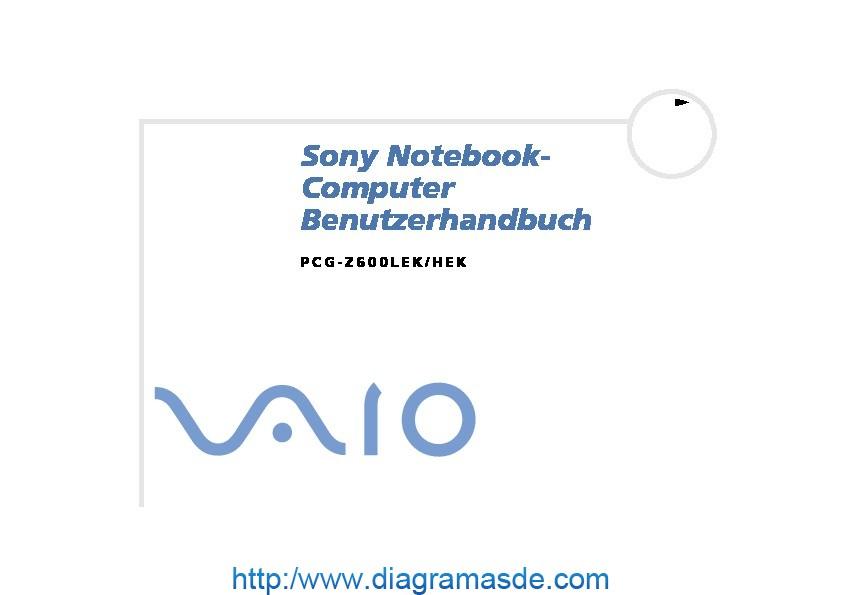 Sony Vaio Manual del Usuario Z600HEK H Aleman.PDF