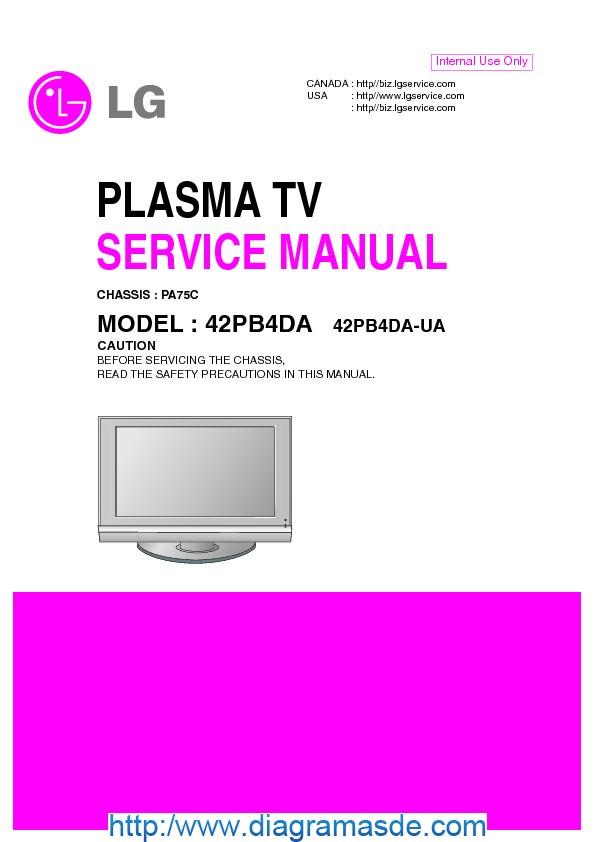42PB4DA Manual de Servicio.pdf
