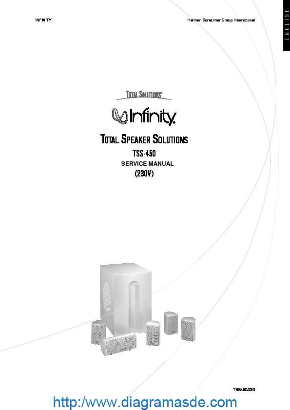 Infinity TSS 450 51 speaker systempdf   Diagramasde