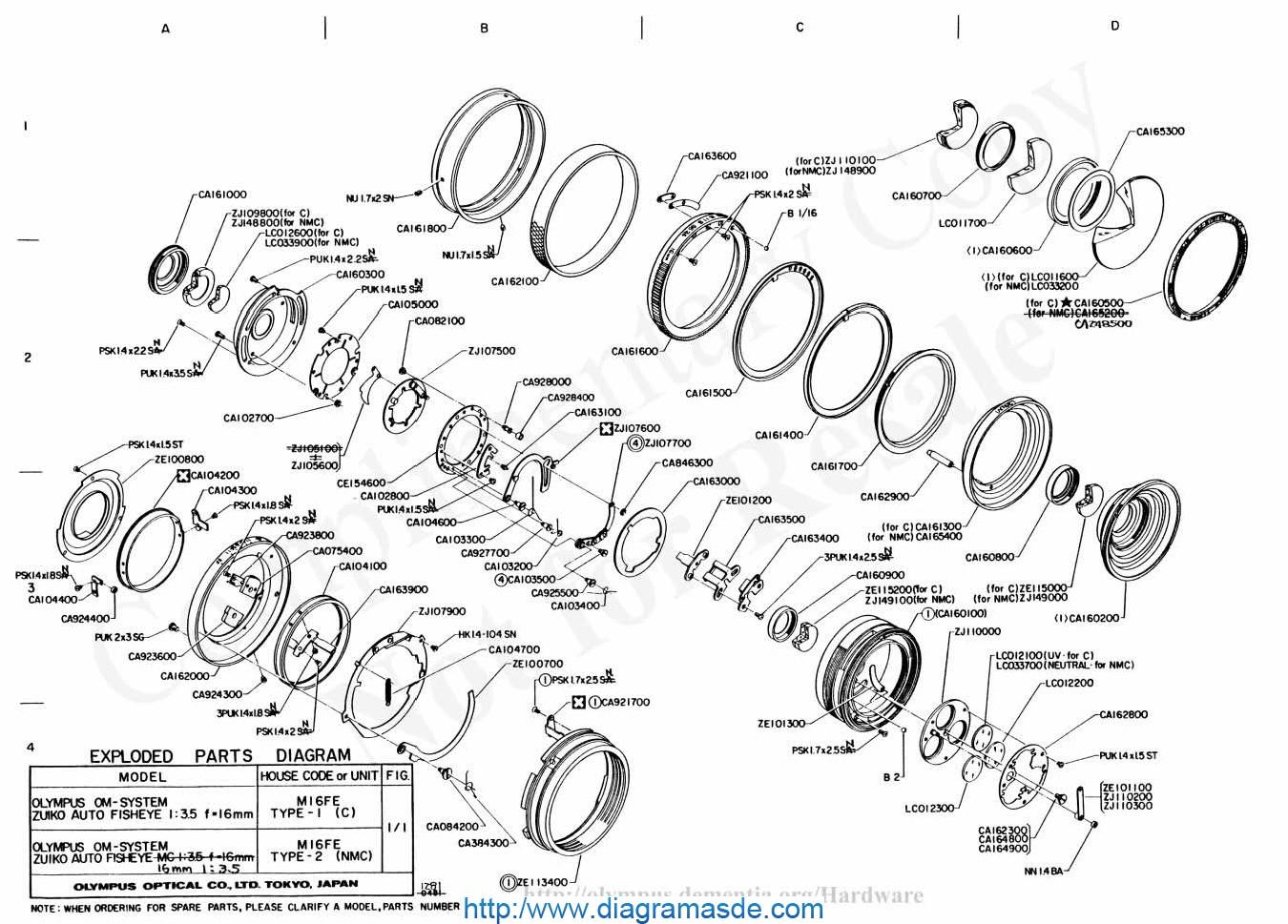olympus 16mm f3 5 pdf olympus m16fe