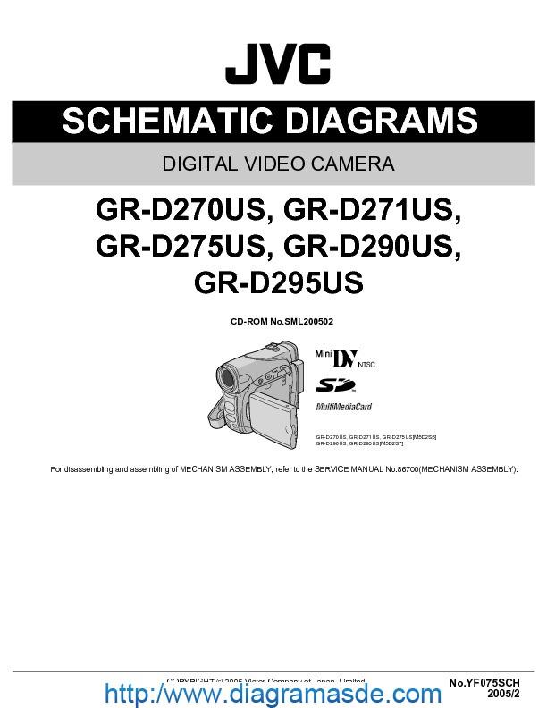 JVC Camcorder GR-D295US - Diagrama Esquematico.pdf