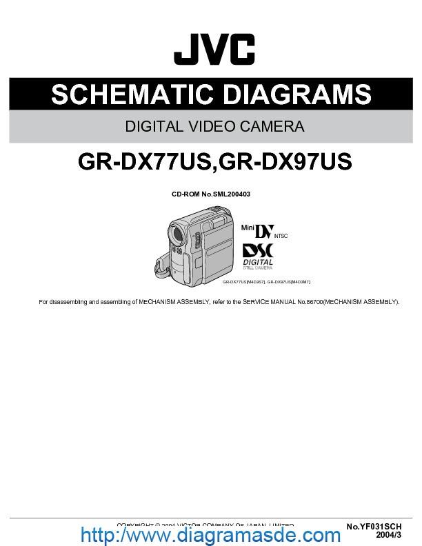 Jvc Gr-dx77 97sch Pdf Jvc