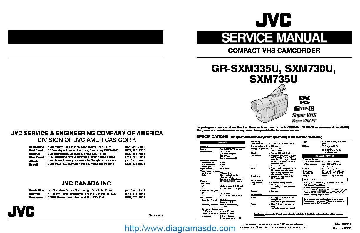 Jvc Camcorder Gr