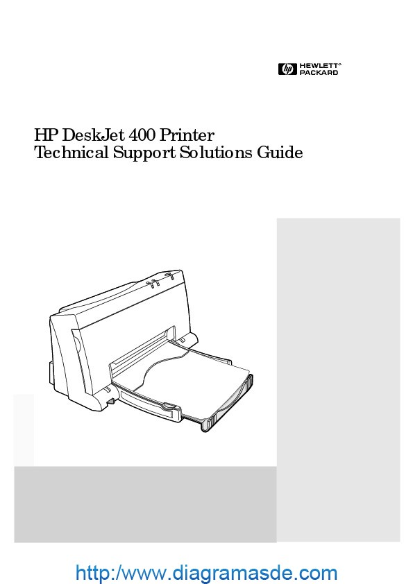 DESKJET 400 Series Technical Support Solutions Guide.pdf