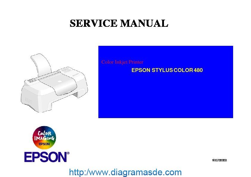 Epson Stylus Color 480 Service Manual Pdf Epson