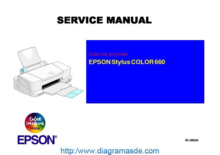 Epson Stylus Color 660 Service Manual Pdf Epson