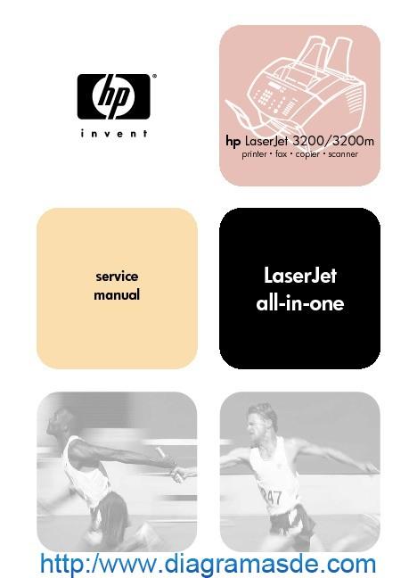 HP LaserJet 3200M Service Manual.pdf