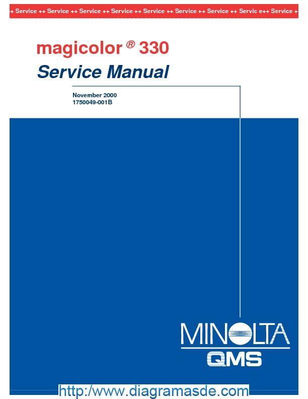 Konica Minolta QMS magicolor 330 Service Manual.pdf