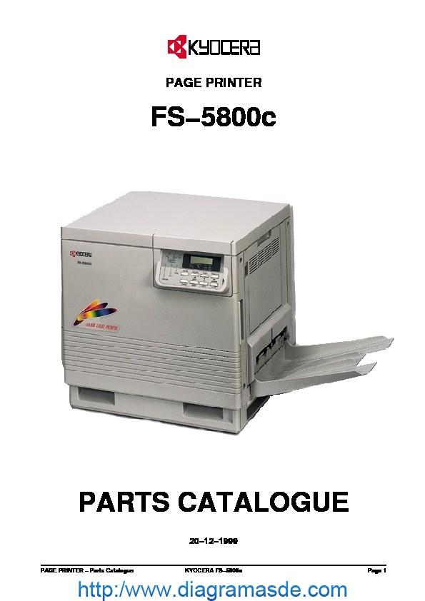Kyocera FS-5800c Manual de Partes.pdf