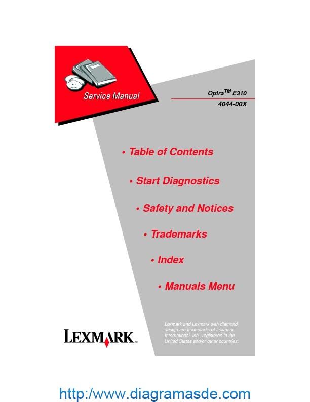 Lexmark Optra E