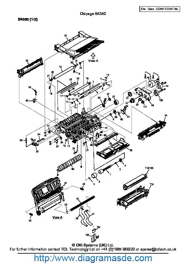 manual de oki b4350 pdf okidata oki b4350