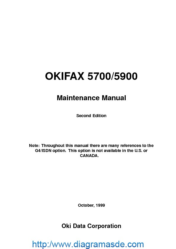 Okidata Fax 5700, 5900 Manual de Servicio.pdf
