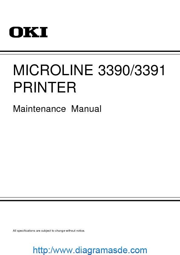 Okidata microline3390-3391 Manual de Servicio.pdf