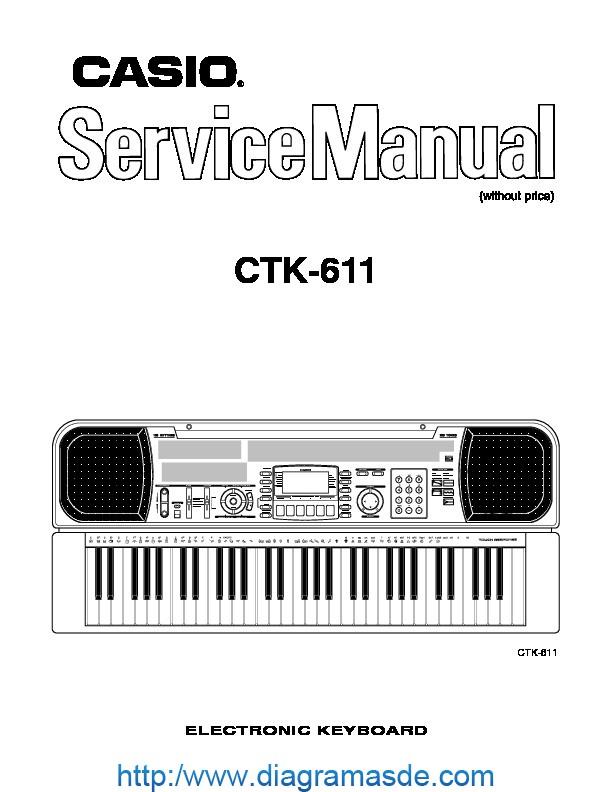 Casio Ctk611 Service Pdf Casio Ctk
