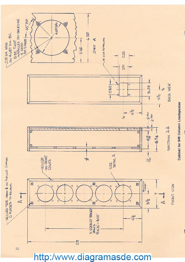 Cabinet for 849 Column Loudspeaker.pdf