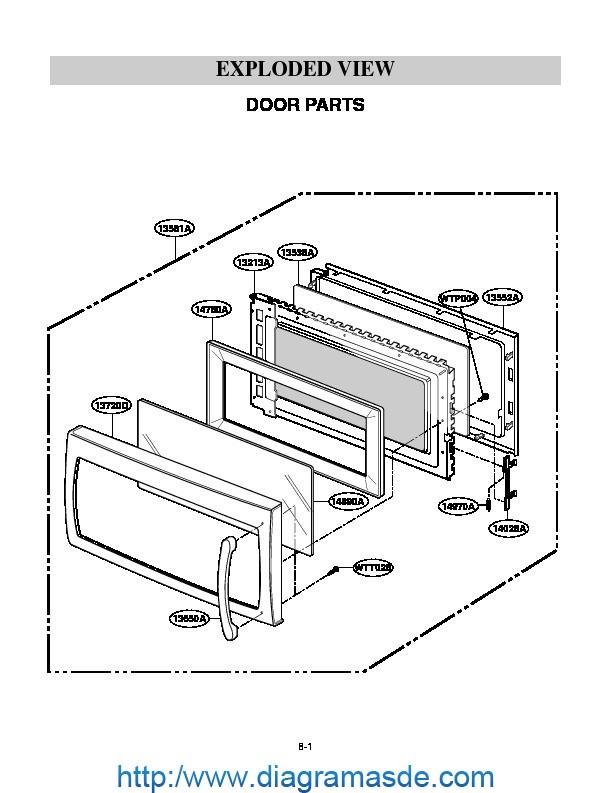 mv1715x diagrama de ensamblaje pdf lg