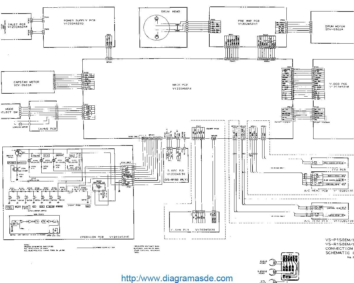 cip    VS   P150EMpdf    AKAI       VS      P120       VS      R120      Diagramasde