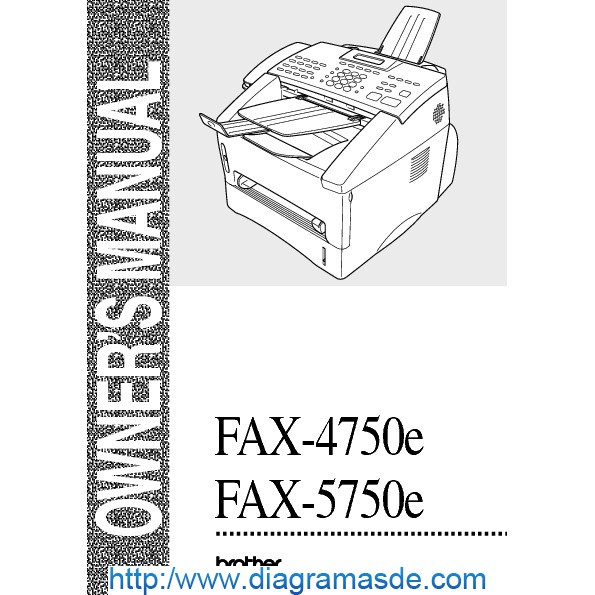 Brother 4750e Intellifax Fax Machine Pdf Brother