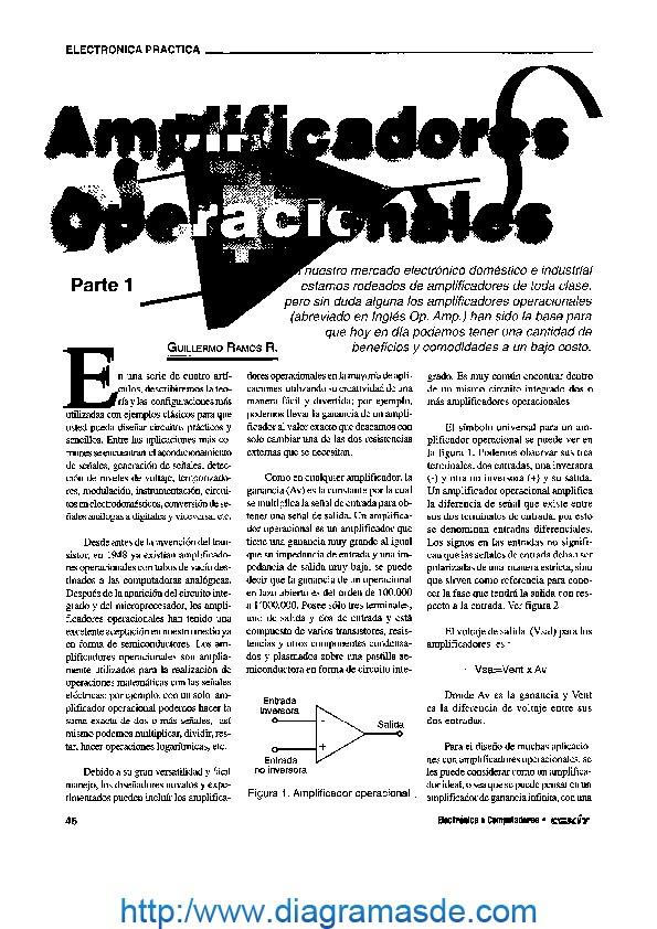 amplificadores operacionales cekit pdf amplificadores