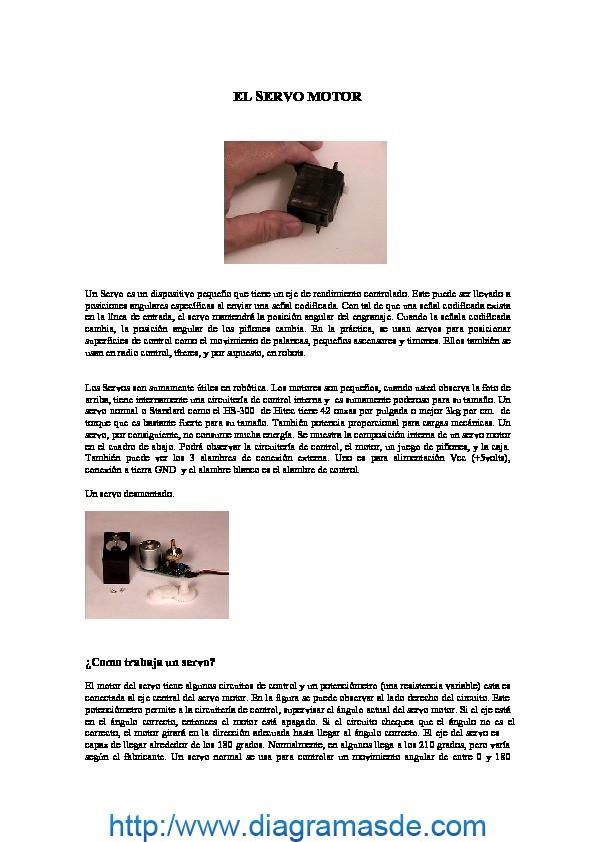 servomotor pdf servomotor pdf   Diagramasde
