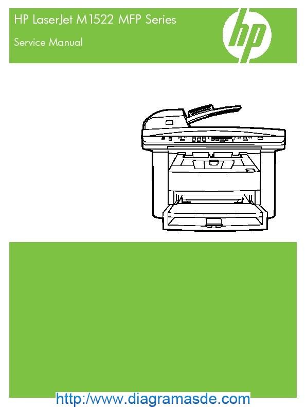 HP LJ M1522 MFP Manual de servicio.pdf