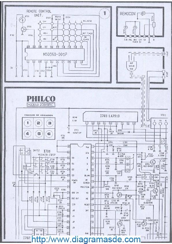 Tv PHILCO 20B19RC.pdf